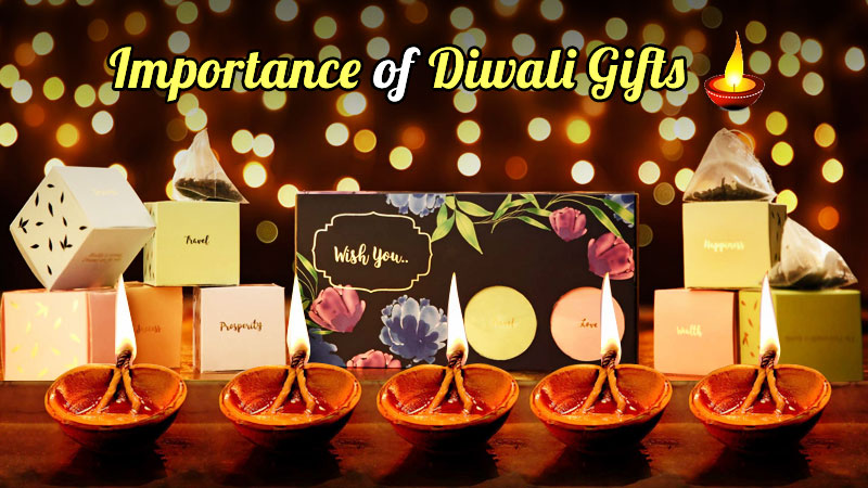 Diwali is inextricably linked to Exchanging Diwali Gifts