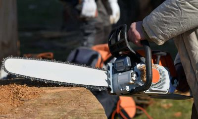 Why were the chainsaw invented